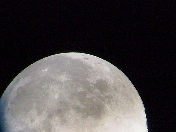 宇宙と月と