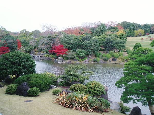 万博 日本庭園